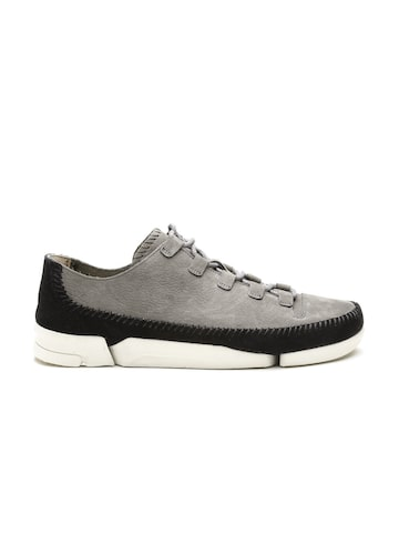 Clarks Men Grey Sneakers Clarks Casual Shoes at myntra