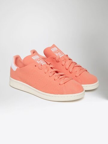 Adidas Originals Women Peach-Coloured Stan Smith PK Sneakers Adidas Originals Casual Shoes at myntra