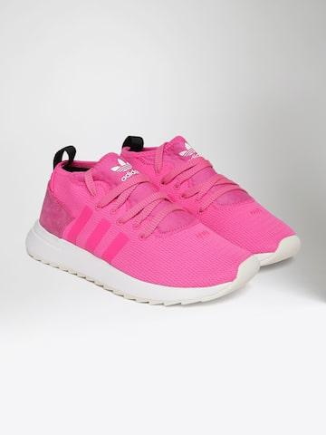 Adidas Originals Women Pink FLB Mid Sneakers Adidas Originals Casual Shoes at myntra