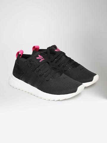 Adidas Originals Women Black FLB MID Sneakers Adidas Originals Casual Shoes at myntra