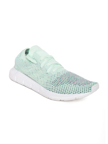 Adidas Originals Women Green Swift Run PK Sneakers Adidas Originals Casual Shoes at myntra