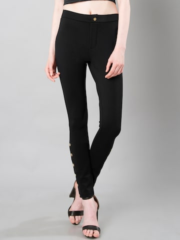 FabAlley Black Treggings FabAlley Jeggings at myntra