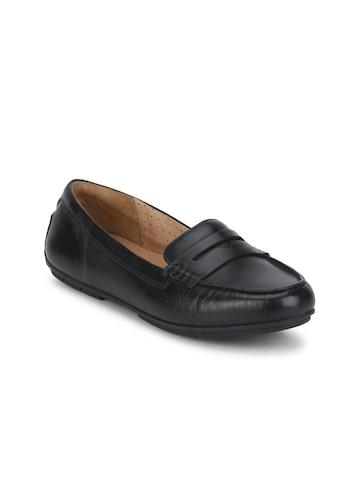 Clarks Women Black Loafers Clarks Casual Shoes at myntra