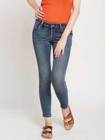 Deal Jeans Women Blue Regular Fit Mid-Rise Clean Look Stretchable Jeans Deal Jeans Jeans at myntra