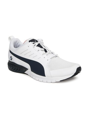 Puma Unisex White BMW MS Pitlane Sneakers Puma Casual Shoes at myntra