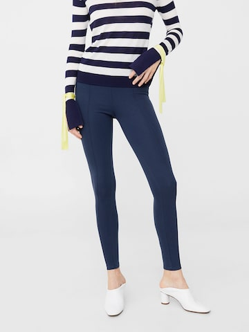 MANGO Navy Treggings MANGO Jeggings at myntra