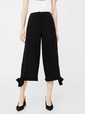 MANGO Women Black Culottes MANGO Trousers at myntra