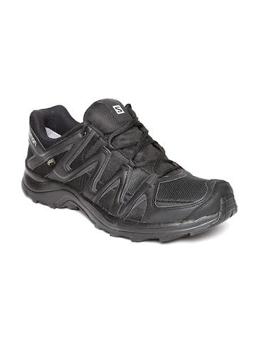 Salomon Men Black Xa Thena Gtx Sports Shoes Salomon Sports Shoes at myntra