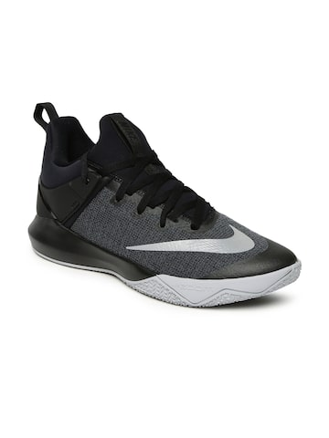Nike Men Grey ZOOM SHIFT Basketball Shoes Nike Sports Shoes at myntra