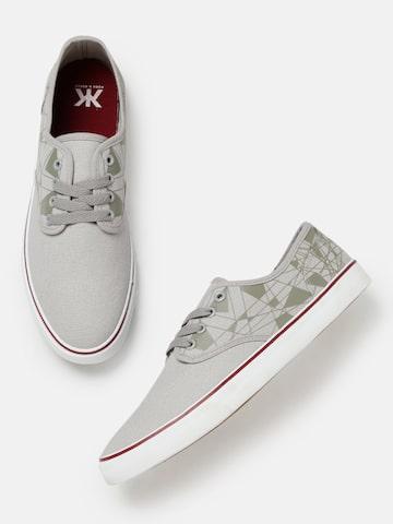 Kook N Keech Men Grey Sneakers Kook N Keech Casual Shoes at myntra