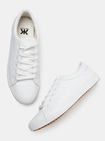 Kook N Keech Men White Sneakers Kook N Keech Casual Shoes at myntra