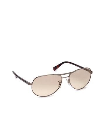 Calvin Klein Unisex Oval Sunglasses 1089 045 S Calvin Klein Sunglasses at myntra