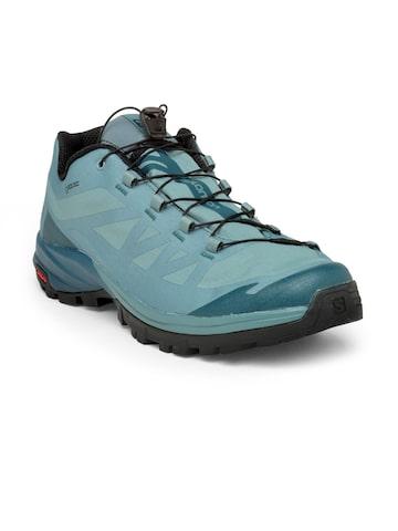 7ff8be1b6a8 Salomon Men Green Outpath Gtx Trekking Shoes Salomon Sports Shoes from  myntra in Footwear