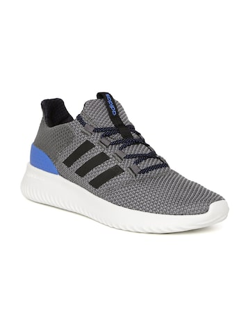 Adidas NEO Men Grey CLOUDFOAM ULTIMATE Sneakers Adidas NEO Casual Shoes at myntra