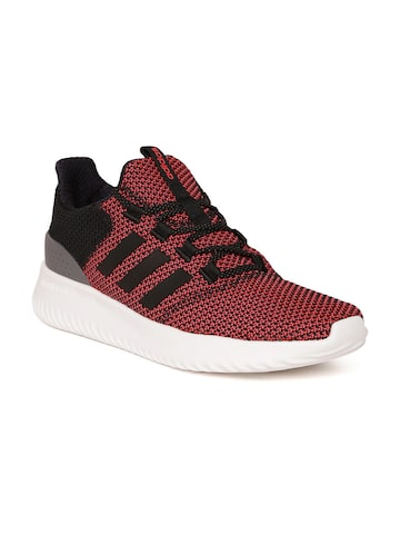 Adidas NEO Men Pink & Black CLOUDFOAM ULTIMATE Sneakers Adidas NEO Casual Shoes at myntra