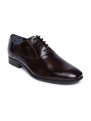 Louis Philippe Men Brown Leather Oxford Shoes Louis Philippe Formal Shoes at myntra