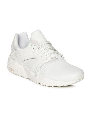 Puma Unisex White Blaze Cage Glove Sneakers Puma Casual Shoes at myntra