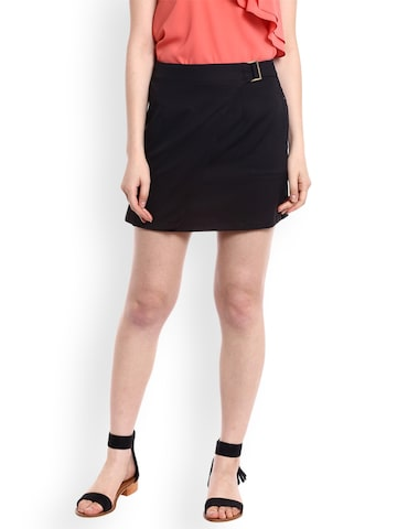 20Dresses Women Black Mini Skirt 20Dresses Skirts at myntra