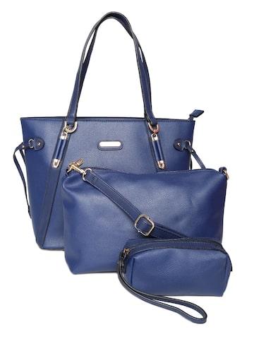 Elle Blue Shoulder Bag Elle Handbags at myntra