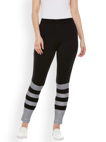 Rider Republic Black Jeggings Rider Republic Jeggings at myntra