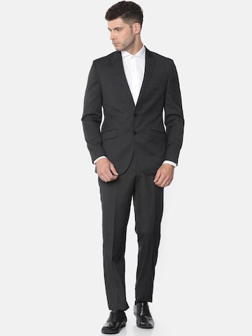 Raymond Men Black Single-Breasted Slim Fit Formal Suit Raymond Suits at myntra