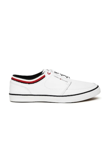 Tommy Hilfiger Men White Sneakers Tommy Hilfiger Casual Shoes at myntra