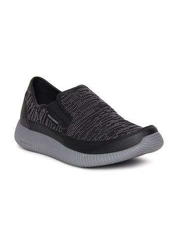 Skechers Men Black Depth Charge Sports Shoes Skechers Sports Shoes at myntra