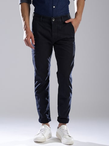 GAS Men Blue Regular Fit Mid-Rise Clean Look Stretchable Jeans GAS Jeans at myntra