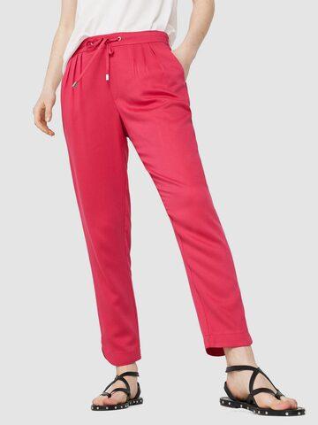 MANGO Women Pink Regular Fit Solid Regular Trousers MANGO Trousers at myntra