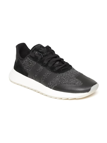 Adidas Originals Women Black FLB Sneakers Adidas Originals Casual Shoes at myntra