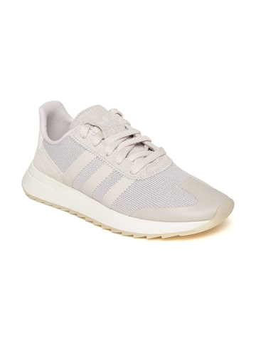 Adidas Originals Women Grey FLB Sneakers Adidas Originals Casual Shoes at myntra