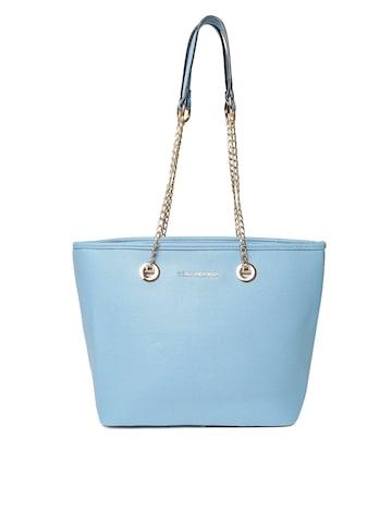Lisa Haydon for Lino Perros Blue Solid Shoulder Bag Lino Perros Handbags at myntra