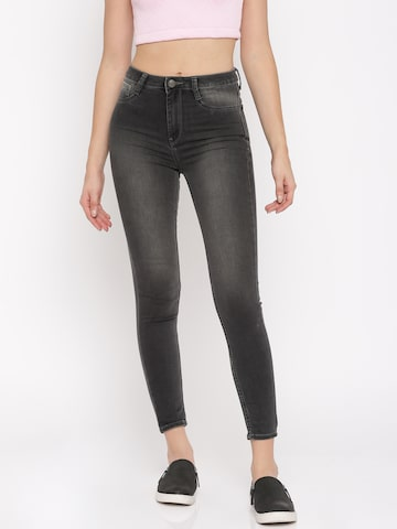Flying Machine Black Betty Fit Jeggings Flying Machine Jeggings at myntra