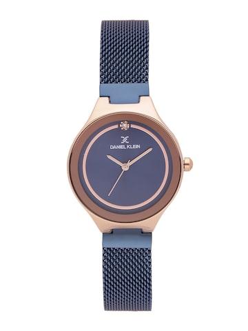 Daniel Klein Premium Women Navy Blue Analogue Watch DK11468-5 Daniel Klein Watches at myntra
