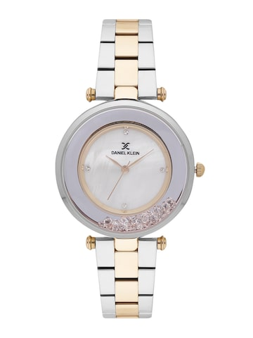 Daniel Klein Women Mother of Pearl Analogue Watch DK11611-5 Daniel Klein Watches at myntra