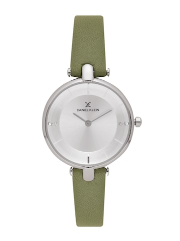 Daniel Klein Fiord Women Silver-Toned Analogue Watch DK11564-6 Daniel Klein Watches at myntra