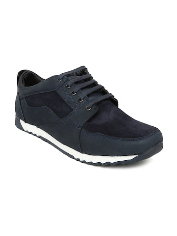 Bata Men Navy Blue ARCHER Sneakers Bata Casual Shoes at myntra