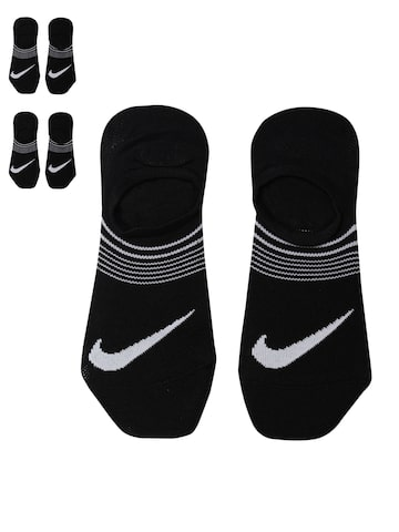 Nike Women Pack of 3 PERF LTWT Foot Black Shoeliners Nike Socks at myntra