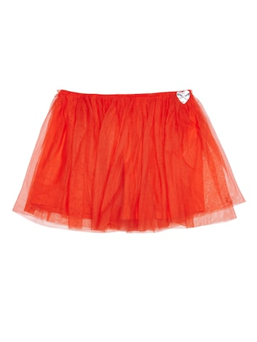 United Colors of Benetton Girls Orange Flared Skirt United Colors of Benetton Skirts at myntra