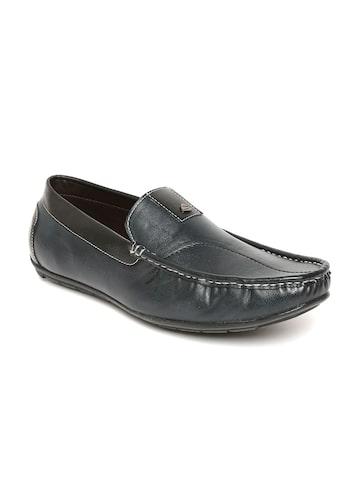 Duke Men Dark Green Loafers Duke Casual Shoes at myntra