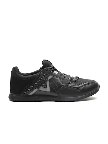 DIESEL Men Black Sneakers DIESEL Casual Shoes at myntra