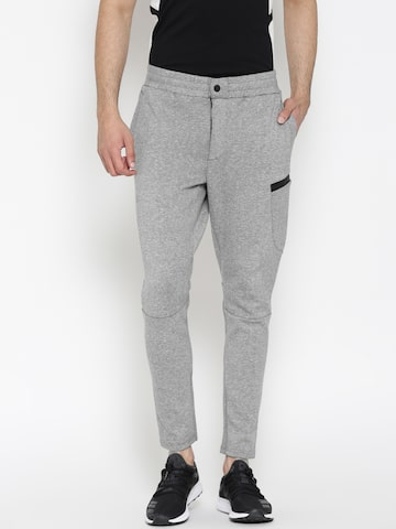 United Colors of Benetton Grey Track Pants United Colors of Benetton Track Pants at myntra