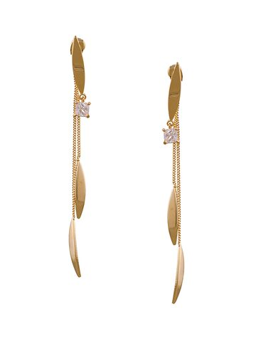 Sia Art Jewellery Gold-Toned Quirky Hoop Earrings Sia Art Jewellery Earrings at myntra