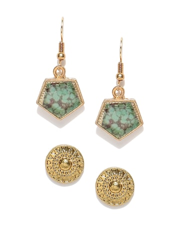 DressBerry Set of 2 Earrings DressBerry Earrings at myntra