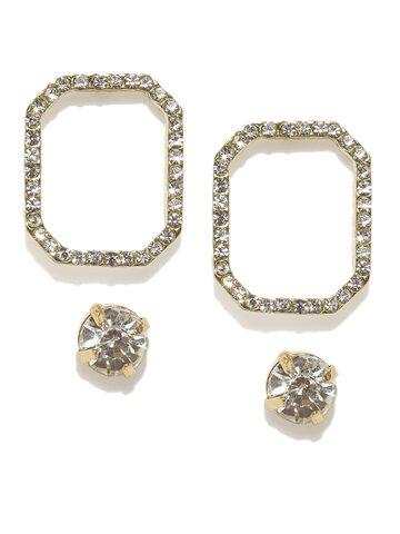 DressBerry Set of 2 Earrings DressBerry Earrings at myntra
