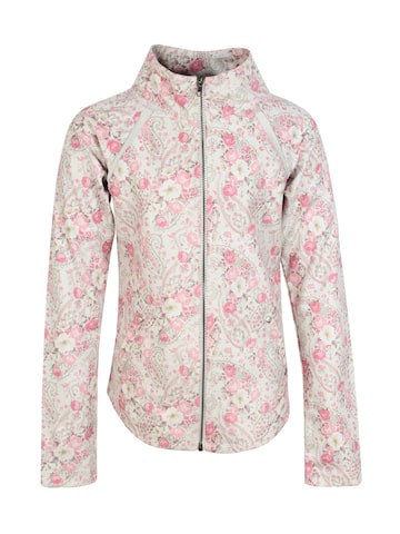 CUTECUMBER Girls Pink Printed Tailored Jacket CUTECUMBER Jackets at myntra