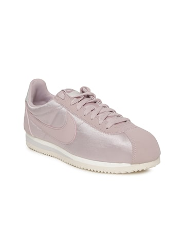 Nike Women Lavender CLASSIC CORTEZ Sneakers Nike Casual Shoes at myntra