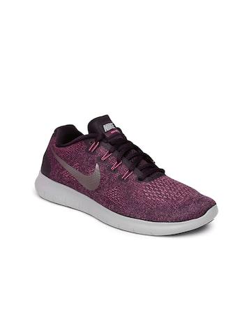 Nike Women Purple FREE 2017 Running Shoes Nike Sports Shoes at myntra