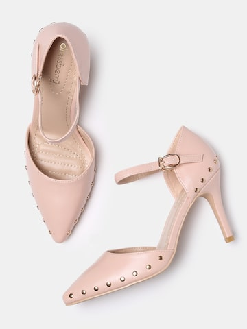 DressBerry Women Pink Embellished Pumps DressBerry Heels at myntra