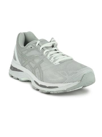 ASICS Men Grey GEL-NIMBUS 19 Running Shoes ASICS Sports Shoes at myntra
